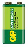 Baterie zinc Greencell GP 9V 1 buc/blister