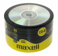 CD-R 700MB, 52x, 50 buc pe folie, Maxell