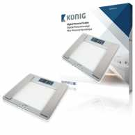 Ultra slim body fat scale