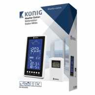 Statie meteo Wireless, interior si exterior, Konig