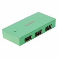 Hub USB 4 porturi New York verde Sweex