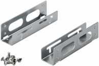 3.5'' hard disk installation frame to 5.25'', grey-silver - for installation of one HDD / SSD hard disk