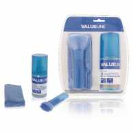 Kit curatare ecrane 3 in 1 (solutie, laveta, perie) 200 ml Valueline