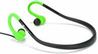 Casca stereo in ureche 3.5mm Cougar verde/negru rezistent la apa NGS