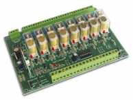 KIT 8-CHANNEL RELAY CARD