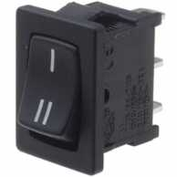 Rocker switch 1P 10 A 250 VAC