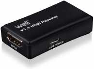 Prelungitor HDMI pana la 35m 4K V1.4 Well