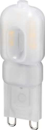 LED compact lamp, 2.2 W, warm white - base G9, 20 W equivalent, warm white