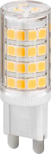 LED compact lamp, 3.5 W, cool white - base G9, 35 W equivalent, cool white, not dimmable