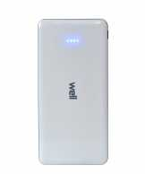Acumulator extern powerbank 10000mAh 2.1A alb, Well