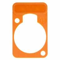 Colorcoded marking plate orange