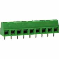 PCB Terminal Block Pitch 5.08 mm Horizontal 9P