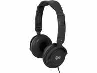 Casti audio over-ear cu fir, DJ 605 M, microfon, negru, Trevi