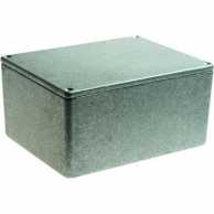 Metal enclosure, Grey, 95 x 121 x 61 mm, Die-Cast Aluminium, IP54