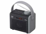 Radio FM, MP3, USB, Bluetooth negru Trevi