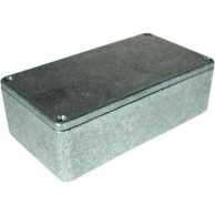 Metal enclosure, Grey, 66 x 120 x 40 mm, Die-Cast Aluminium, IP54