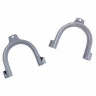 Hook Holder Outlet Hose Grey