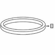 V-Belt Original Part Number Turntable 195 x 0.7 x 5 mm