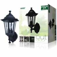 Outdoor Wall Light 60 W Black