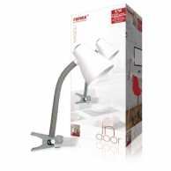 Desk Clip Lamp Grey