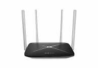 Router wireless dual band AC1200 4 antene fixe, Mercusys