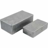 Metal enclosure, Grey, 50 x 50 x 31 mm, Die-Cast Aluminium, IP54