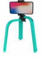 3POD, turquoise - the all in one Selfie Stick & flexible Tripod, with Bluetooth remote control - can also be used as Action Pole or Selfie Stick