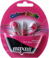 Casca in ureche 3.5mm roz Color Budz Maxell