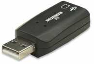 Adaptor sunet Hi-speed USB 3-d 150859 Manhattan