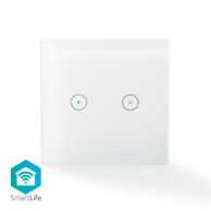 Intrerupator Dual Smart WiFi, Nedis